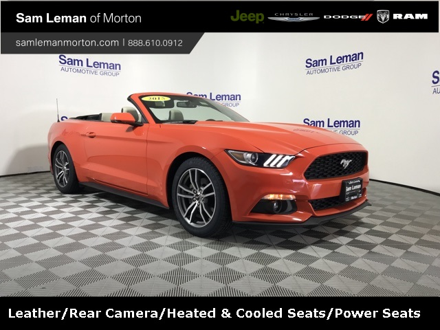 Pre Owned 2015 Ford Mustang Ecoboost Premium 2d Convertible In