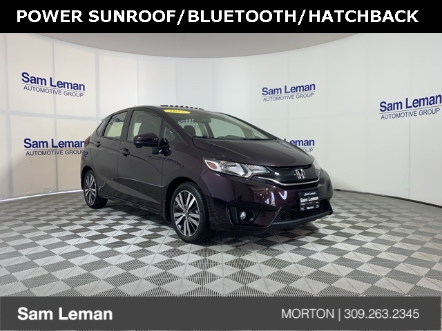 Sam Leman Morton Illinois >> Pre Owned 2016 Honda Fit Ex Fwd 4d Hatchback